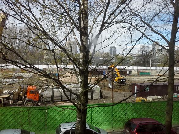 Стройка дома на Стачек