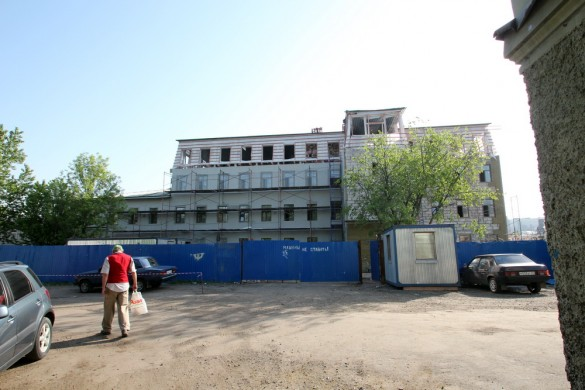 Строительство бизнес-центра на Обводном, 62, корпус 2