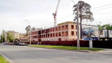 Строительство медицинского центра на Выборгском шоссе