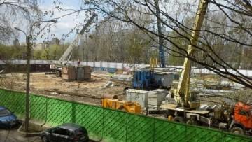 Строительство жилого дома на Стачек