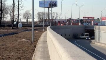 Тоннель на Петербургской шоссе