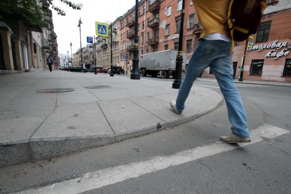 Улица Рубинштейна, переход