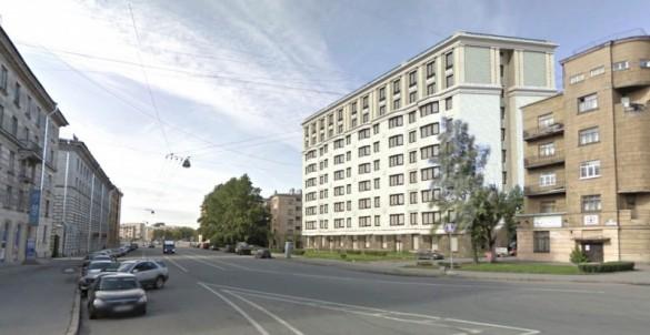 Улица Швецова, проект апарт-отеля № 8