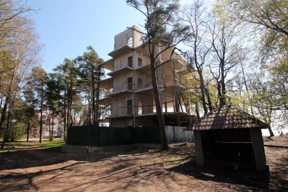 Зеленогорск, Малинная, 1а, строительство