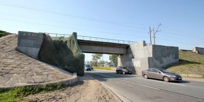 Железнодорожный мост над Пулковским шоссе