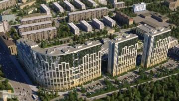 Жилой комплекс на проспекте Александровской Фермы