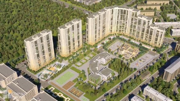 Жилой комплекс GreenCity от RBI на проспекте Александровской Фермы