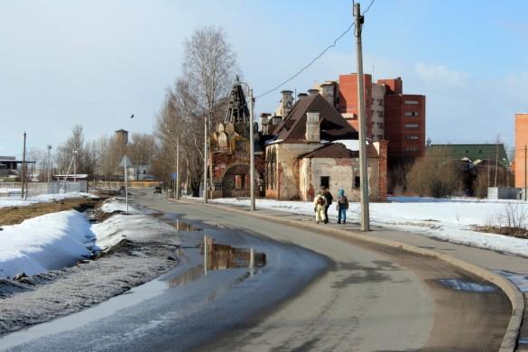Академический проспект и Царский вокзал