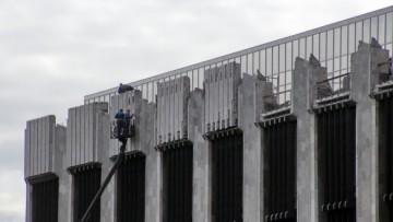 Демонтаж на площади Победы