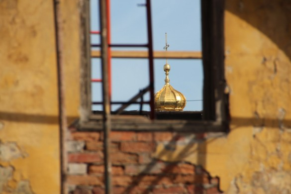 Крест Никольского собора