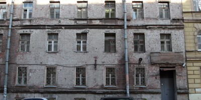 Кирилловская улица, 14, фасад