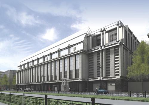 Проект реконструкции здания на Московском проспекте, 94