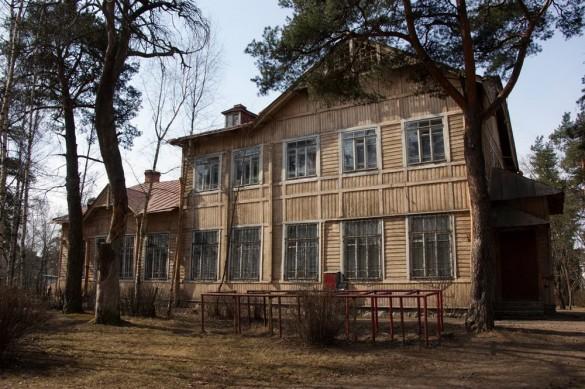 Алексеевская школа на улице Мосина, 63, в Сестрорецке