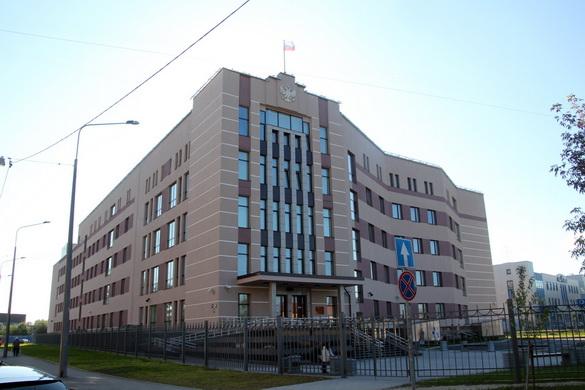 Невский суд на улице Ольги Берггольц, 12