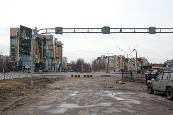Новоколомяжский, выезд на Вербную улицу