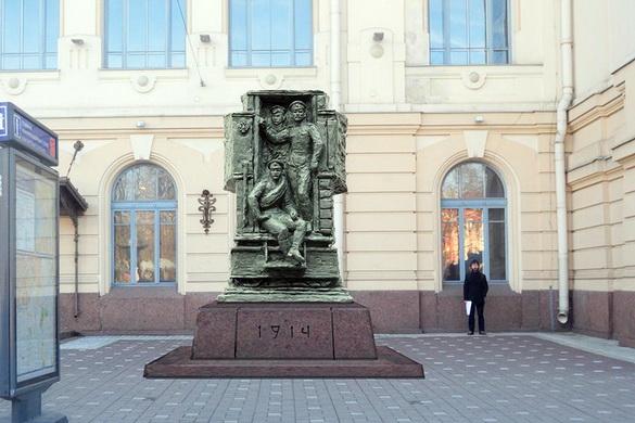 Памятник русской гвардии