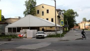 Павильон на улице Ивана Черных, 10