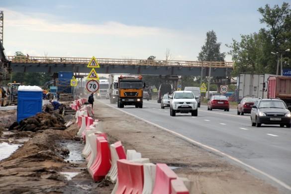 Путепровод над Московским шоссе