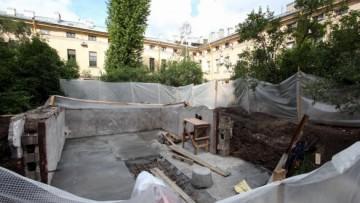 Реконструкция гаража, бомбоубежища на Фонтанке