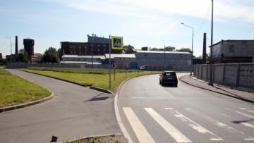 Съезд с Невельской улицы к ЗСД