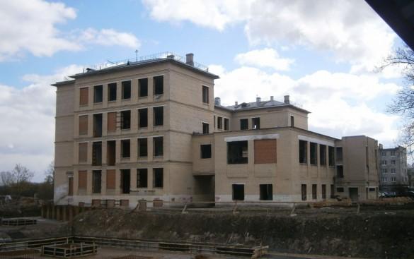 Школа 270 в Красном Селе на проспекте Ленина, 88