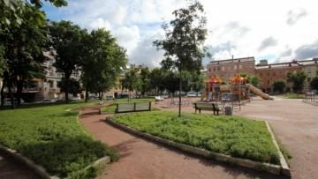 Сквер в Соляном переулке