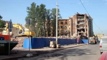 Снос на Сытнинской улице, 9-11