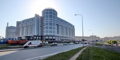 Свердловская набережная и новый жилой дом