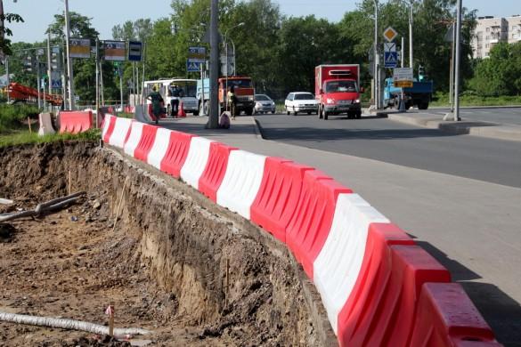 Тротуар проспекта Ленина