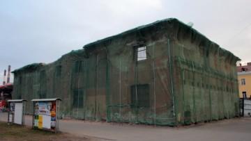 Заброшенное здание на Введенском канале, Рузовская улица, 18, литера Г