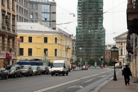 Загородный проспект и дом Дельвига