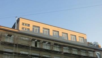 Надстройка дома быта в Финском переулке