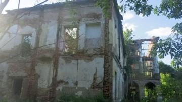 Руины дворца в Ропше