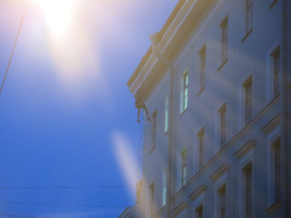 Адмиралтейская, мойка фасада
