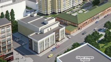 Бизнес-центр на Киевской улице, проект