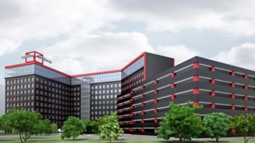 Бизнес-центр и паркинг на Ленинском, 153