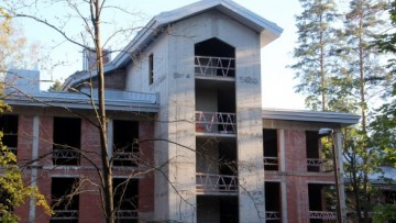 Дом на Приморском шоссе, 502, в Зеленогорске