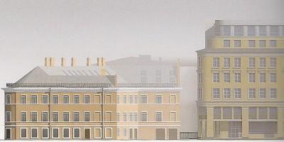 Дом Рогова, проект бизнес-центра в Щербаковом переулке