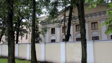 Главное здание Градских богаделен на Смольной