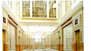 Главный вход после переобразования (проект)