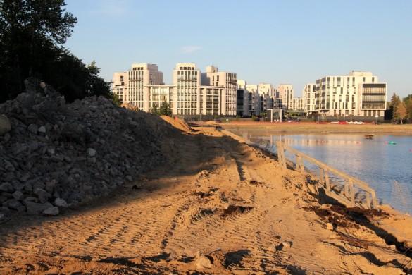 Гребной канал, реконструкция
