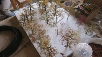 Деревья для макета