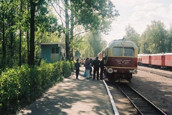 Малая Октябрьская железная дорога, Озерки