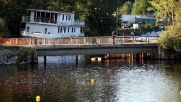 Мост на набережной Гребного канала