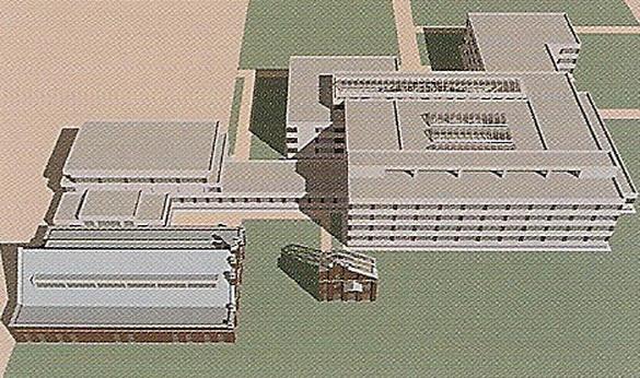 Общий план школы в ЖК Московские ворота