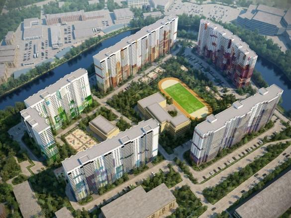 План жилого комплекса Зима-лето на Энергетиков