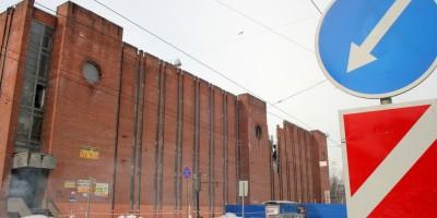 Подстанция 190 Выборгская на Лесном проспекте, 24, после взрыва