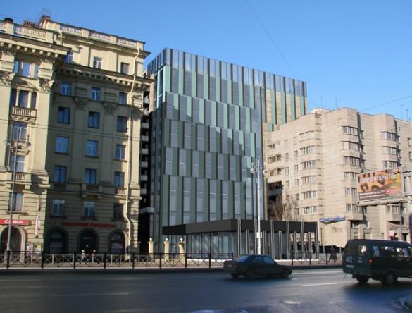 Проект гостиничного комплекса на Московском, 73