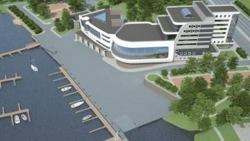 Проект яхт-клуба в Рыбацком