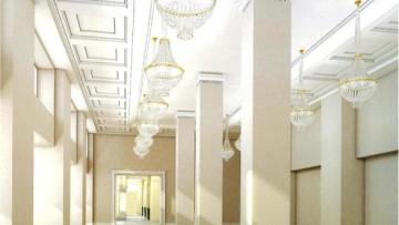 Проект зала Пассажа